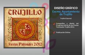 Programa Fiestas Trujillo 2012