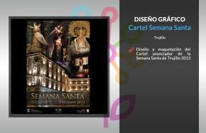 Cartel Semana Santa Trujillo 2013
